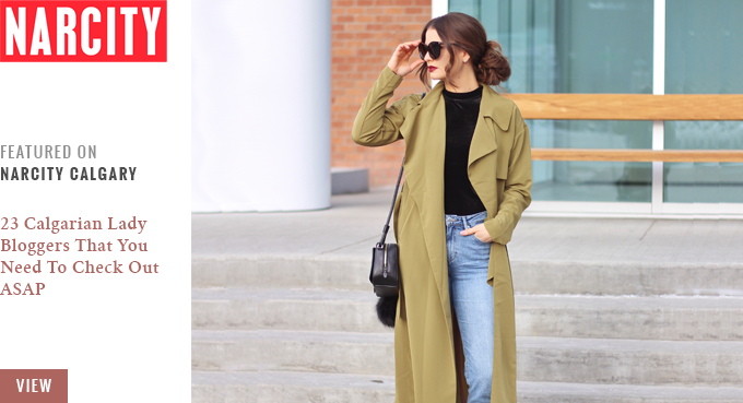 Featured on Narcity Calgary | 23 Calgarian Lady Bloggers That You Need To Check Out ASAP // JustineCelina.com