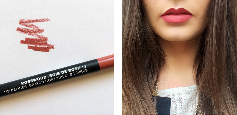 Best in Beauty | February | Sonia Kashuk Lip Definer Rosewood // JustineCelina.com