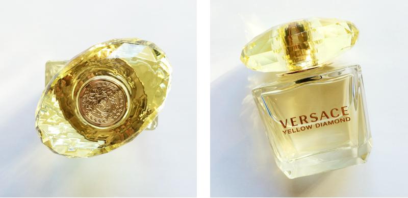 Best in Beauty | February | Versace Yellow Diamond // JustineCelina.com