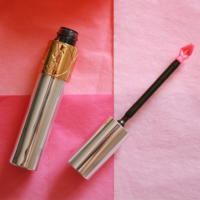 6 Fresh Spring Lip Colours | Yves Saint Laurent Volupté Tint-In-Oil in Oh My Gold Photos, Review, Swatches // JustineCelina.com
