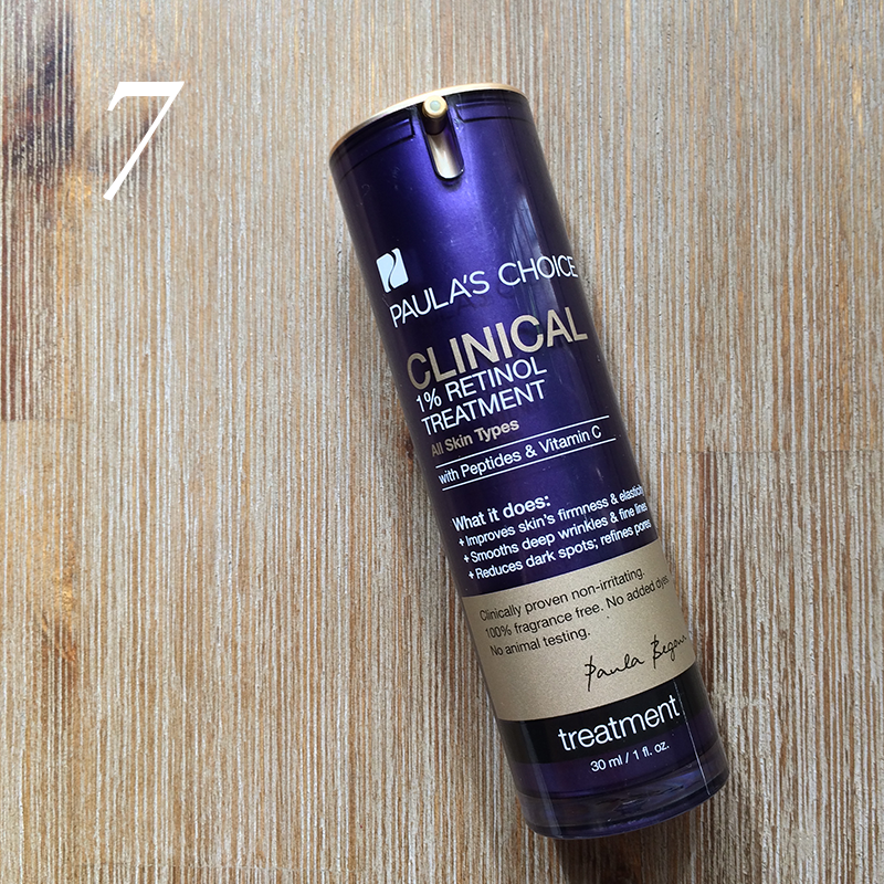 Best in Beauty   March  Paula's Choice Clinical 1% Retinol Treatment // JustineCelina.com