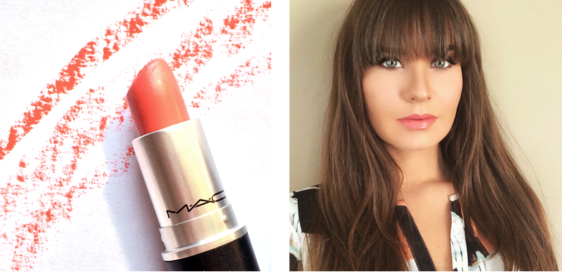 Best in Beauty   March   MAC Cremesheen Lipstick   Ravishing Photos, Review, Swatches // JustineCelina.com