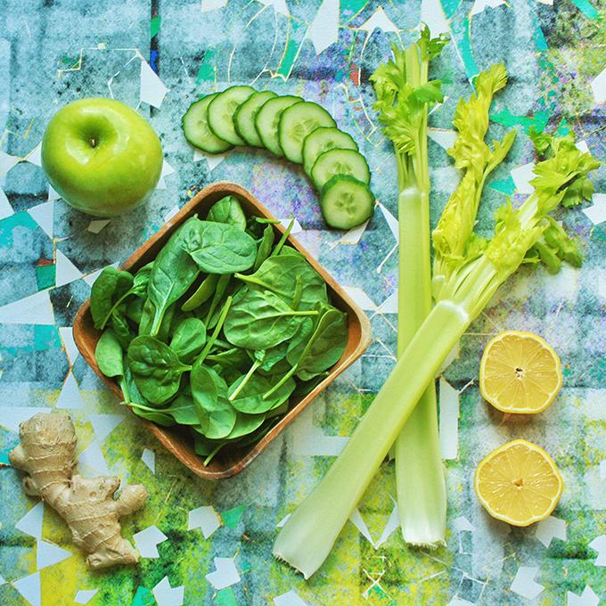 Lean Green Protein Juice // JustineCelina.com