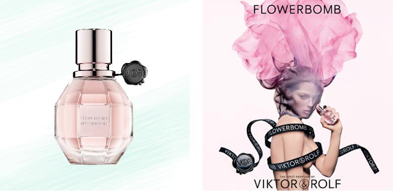 Pattern Obsession | Floral Frenzy | Viktor & Rolf Flowerbomb  // JustineCelina.com