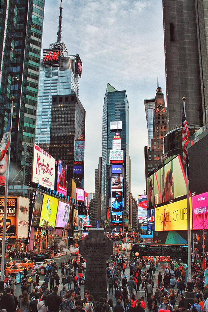 Snapshot | New York City | Times Square // JustineCelina.com
