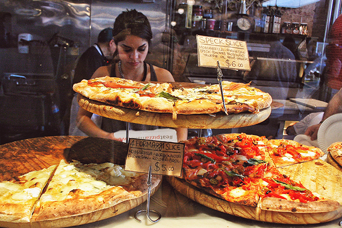 Snapshot | New York City | The Best Pizza Ever at Luzzo's Pizza Meatpacking District, Gansevoort Market // JustineCelina.com