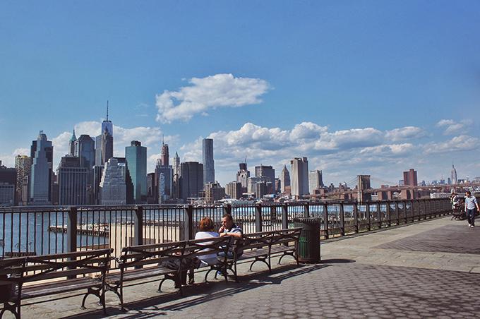 Snapshot | New York City | Manhattan Skyline from Brooklyn // JustineCelina.com