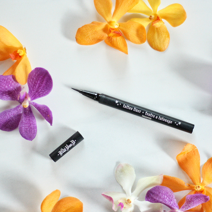 Best in Beauty | June 2015 // Kat Von D Tattoo Liner in Trooper Photos, Review, Swatches  // JustineCelina.com