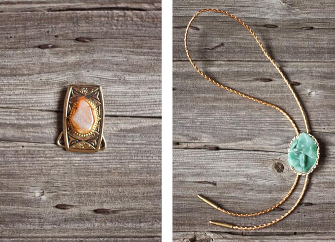 DIY Vintage Bohemian Necklace // JustineCelina.com