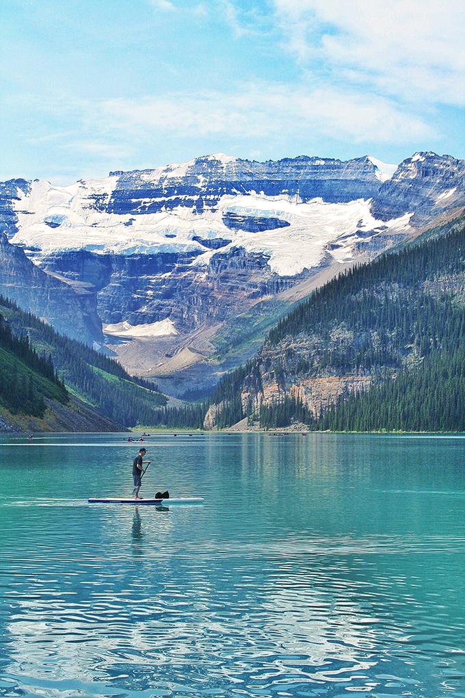A Day at Lake Louise // JustineCelina.com