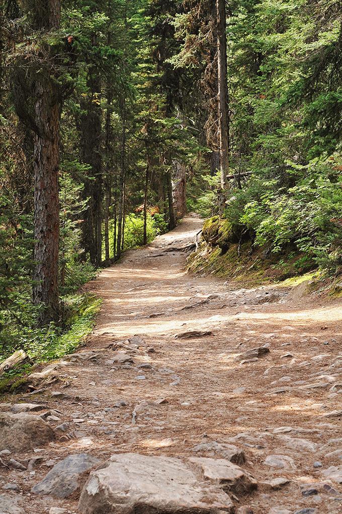 Lake Agnes Tea House Hike // JustineCelina.com