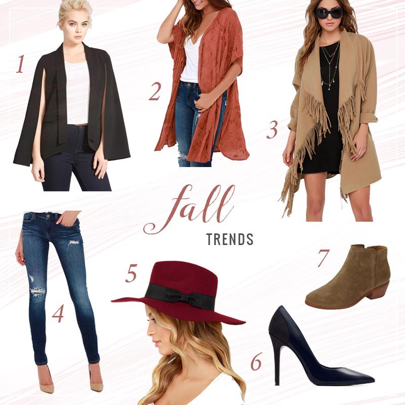 Fall Fashion Trends 2015 // JustineCelina.com