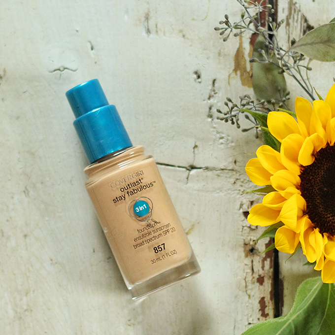 Best in Beauty   August 2015   Covergirl Outlast Stay Fabulous 3 in 1 Foundation in 857 Golden Tan Photos, Review, Swatches // JustineCelina.com