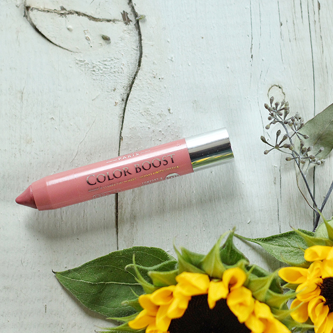 Best in Beauty   August 2015   Bourjois Color Boost Lip Crayon in Proudly Naked Photos, Review, Swatches // JustineCelina.com