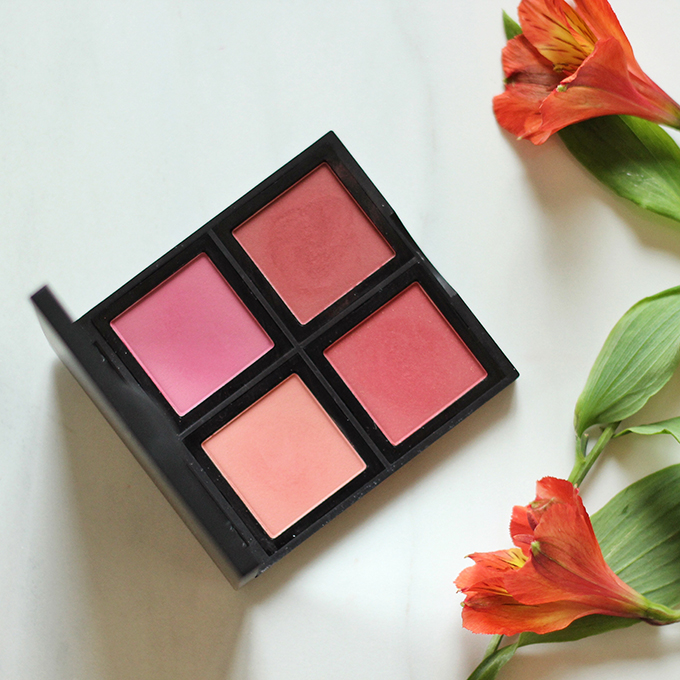 e.l.f. Studio Blush Palette in Dark Photos, Review, Swatches // JustineCelina.com