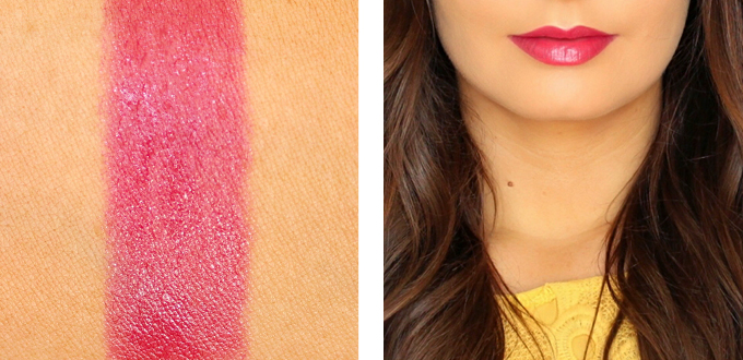 Bourjois Colour Boost Lipstick in Pinking of It Photos, Review, Swatches // JustineCelina.com