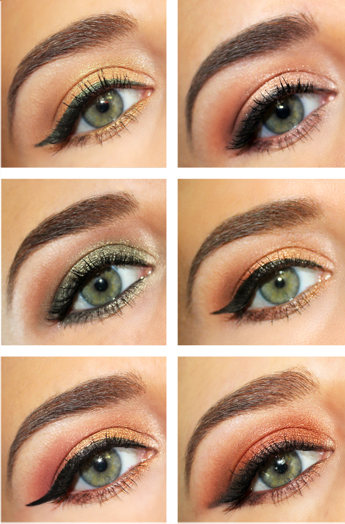 Fall Eye Looks with Makeup Geek Eyeshadows // JustineCelina.com