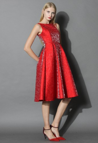 Oh So Fabulous Prom Dress in Red Rose