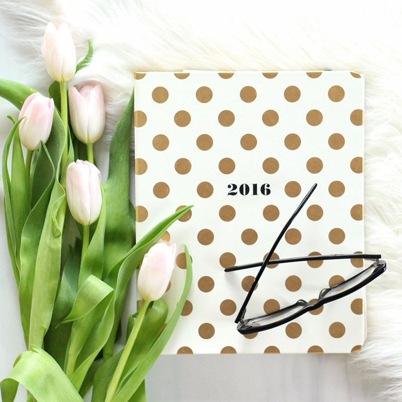 New Year, New Goals: Planning for a Successful 2016 // JustineCelina.com