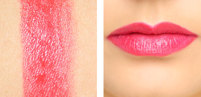 Revlon ColorBurst Lip Butter in Wild Watermelon Photos, Review, Swatches // JustineCelina.com