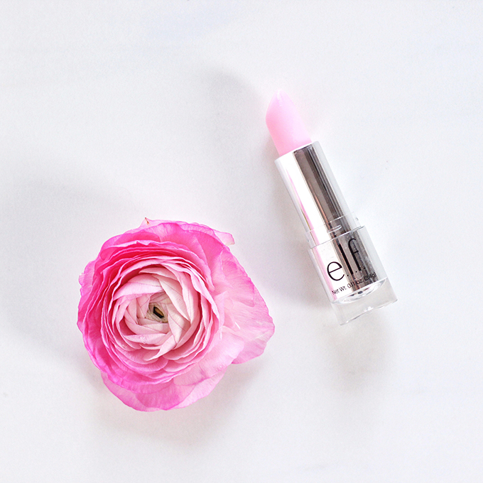 e.l.f. Gotta Glow Lip Tint in Perfect Pink Photos, Review, Swatches // JustineCelina.com