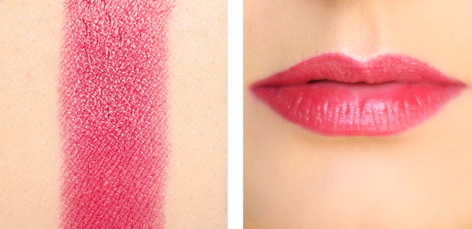 Bourjois Colour Boost Lipstick in Red Island Photos, Review, Swatches // JustineCelina.com