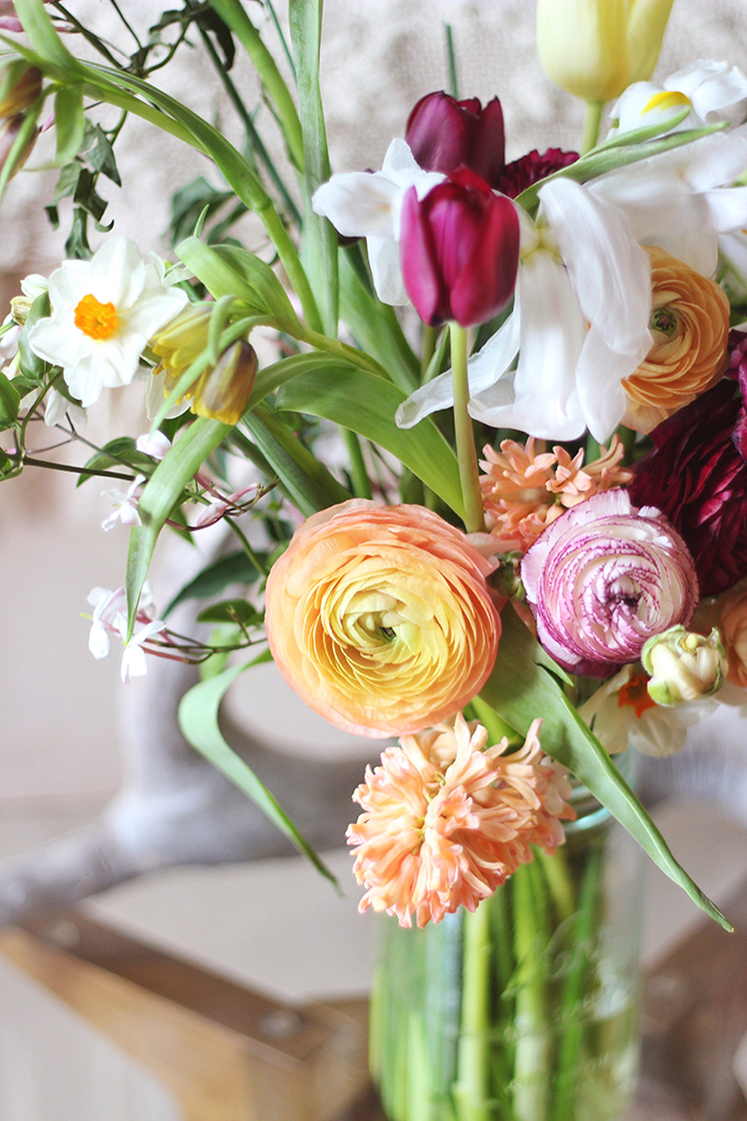 An Introduction to Spring Flowers // JustineCelina.com