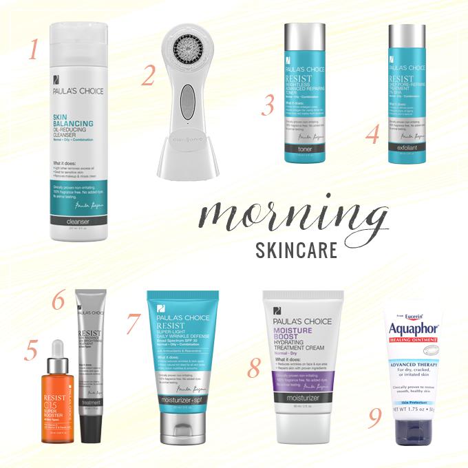 Morning Skincare Routine | Spring 2015 // JustineCelina.com