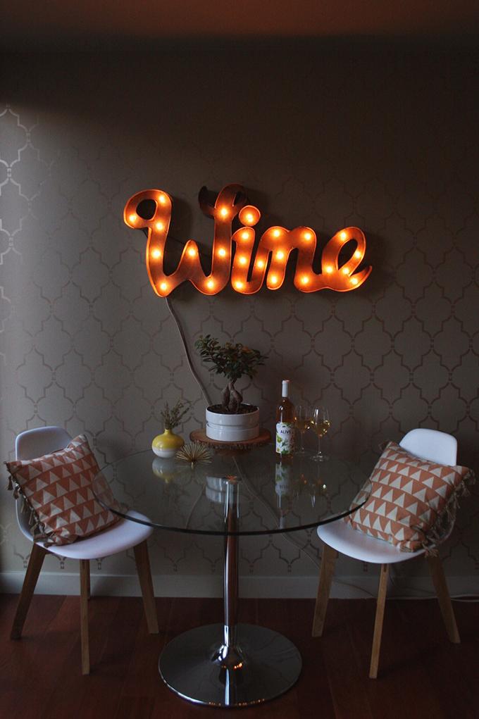 The Wine Nook // JustineCelina.com