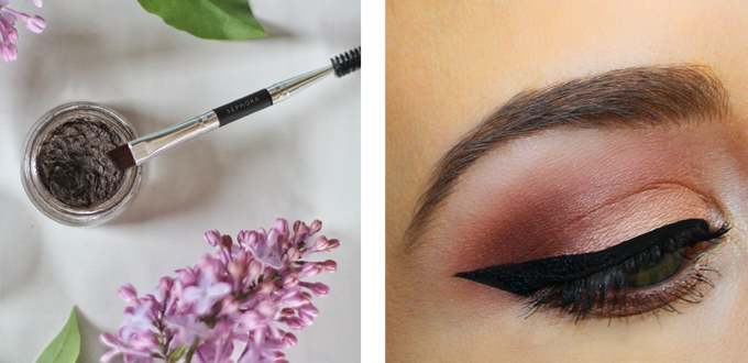 Best in Beauty | May 2015 // Anastasia Beverly Hills DIPBROW™ Pomade in Dark Brown Photos, Review, Swatches // JustineCelina.com