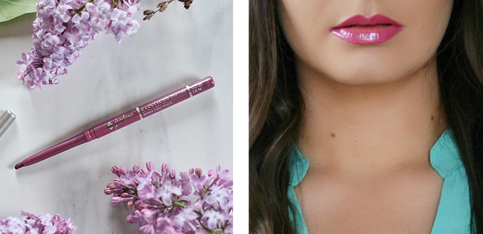 Best in Beauty | May 2015 // Jordana Easyliner for Lips in Silver Lilac with Buxom Full-On Lip Cream in Lavender Cosmo Photos, Review, Swatches // JustineCelina.com