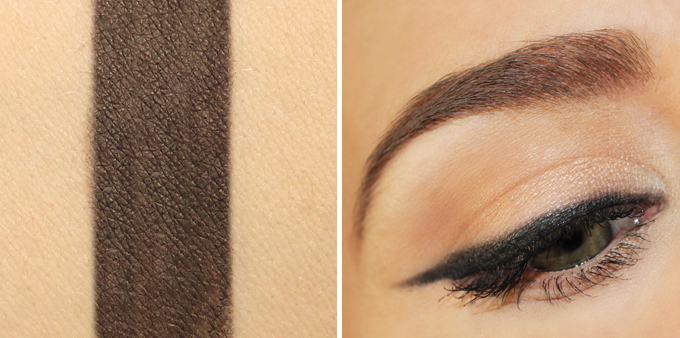 Colourpop Brow Pencil in Bangin' Brunette Photos, Review, Swatches // JustineCelina.com