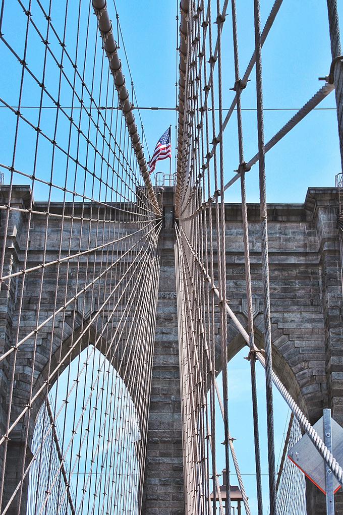 Snapshot | New York City | The Brooklyn Bridge // JustineCelina.com