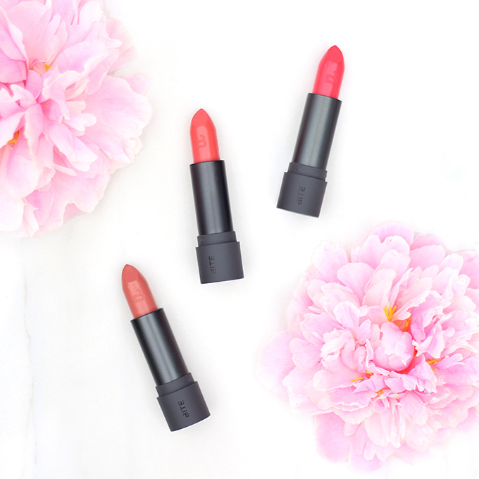 Bite Beauty Amuse Bouche Lipsticks in Meringue, Gingersnap and Pickled Ginger Photos, Review, Swatches // JustineCelina.com
