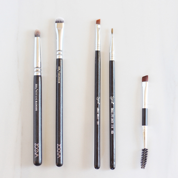 Makeup Brush 101 | Your Complete Guide to Makeup Brushes and How to Use Them | The Best Eyeliner and Eyebrow Brushes // JustineCelina.com