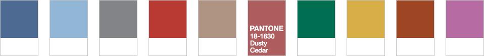 Pantone 18-163 Dusty Cedar