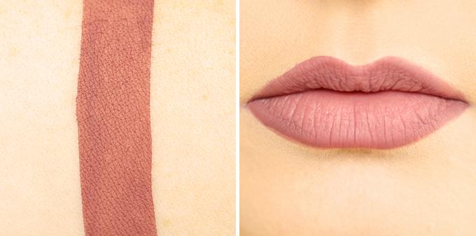 Kat Von D Everlasting Liquid Lipstick in Lolita Photos, Review, Swatches // JustineCelina.com