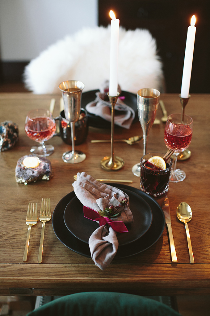 A Luxurious New Years Eve Bash // JustineCelina.com