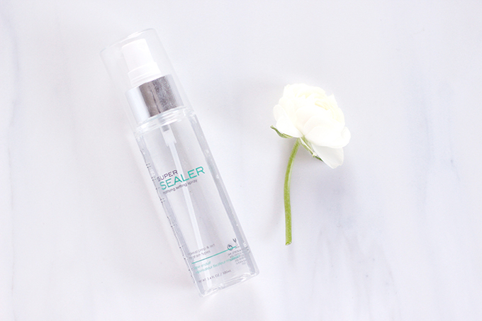 My Routine for Flawless Looking Skin | Cinema Secrets Setting Spray // JustineCelina.com