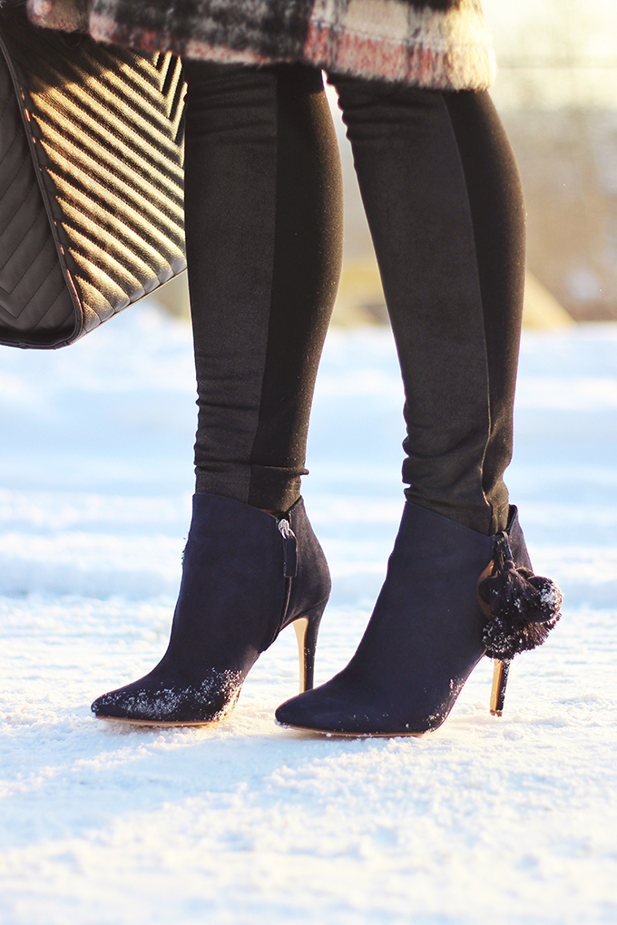 Winter Style Staples | Leather Pants or Leggings // JustineCelina.com