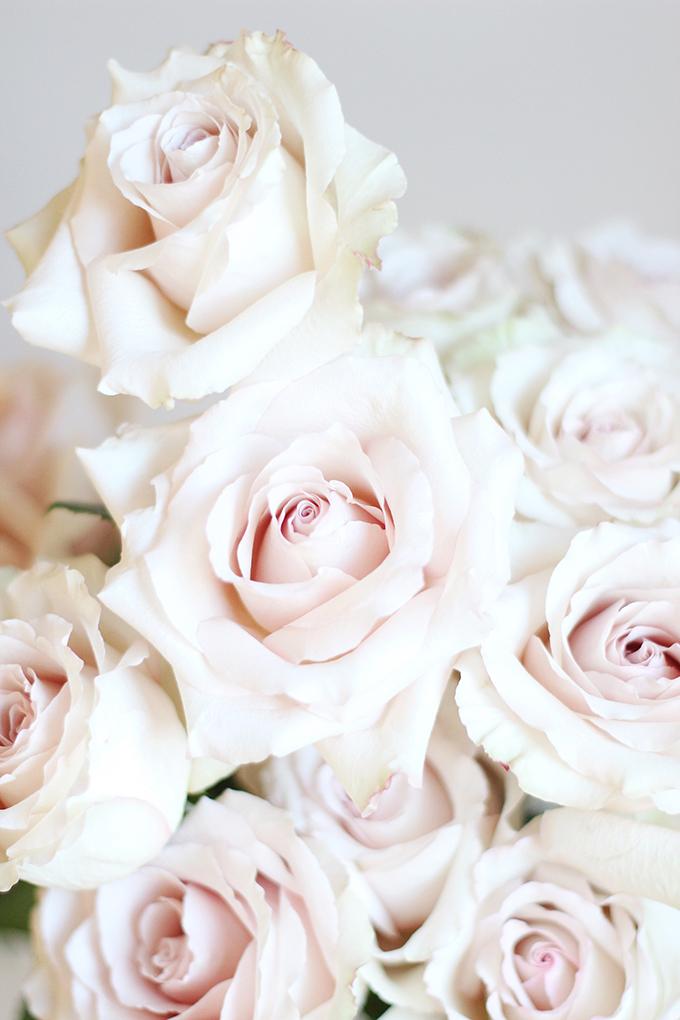 All About Roses   Quicksand Rose Bouquet // JustineCelina.com x Rebecca Dawn Design