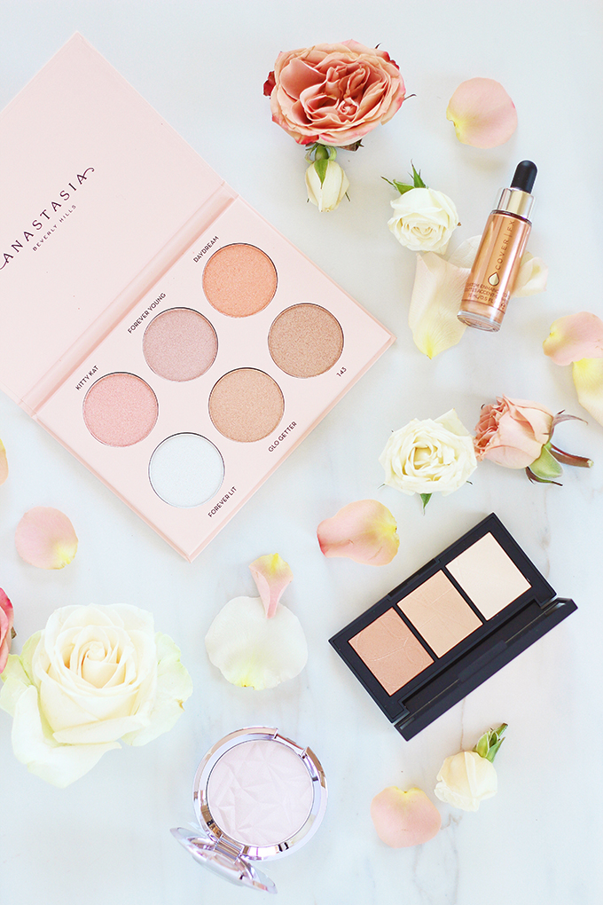 Spring 2017 Beauty Trend Guide   New Highlighter Launches // JustineCelina