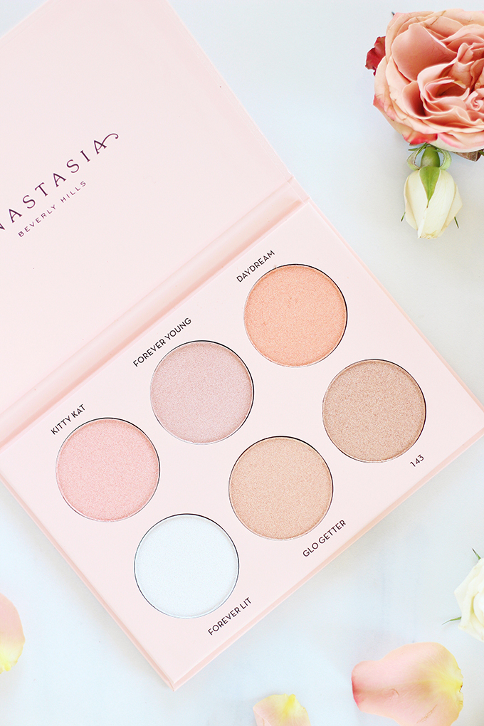 Anastasia Beverly Hills Nicole Guerriero Glow Kit Photos, Review // Spring 2017 Beauty Trend Guide // JustineCelina
