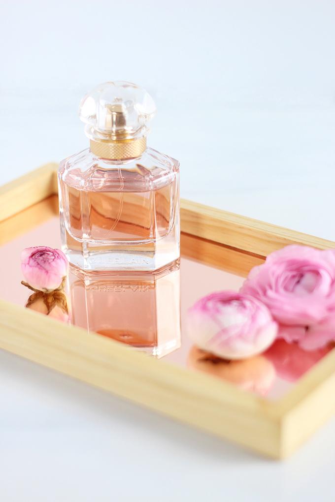 Mon Guerlain Eau de Parfum Photos, Review // JustineCelina.com
