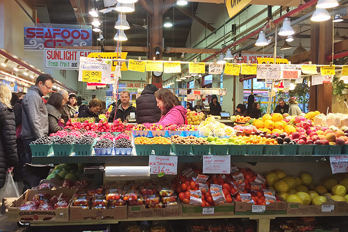 Travel Guide | Granville Island Public Market // JustineCelina.com