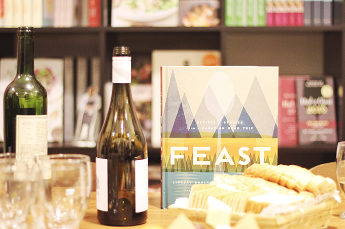 Vancouver Travel Guide | FEAST Cookbook Launch and Appetite Random House / JustineCelina.com