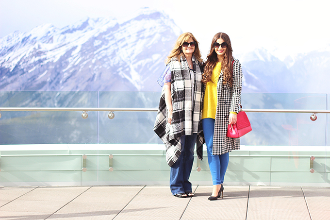 Mother's Day on at the Sky Bistro in Banff, Alberta | Brewster Travel Canada | Sulphur Mountain, Banff Gondola | // JustineCelina.com