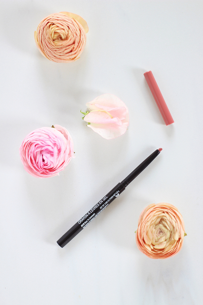 Wet n Wild Perfect Pout Gel Lip Liner in Bare to Comment Photos, Review, Swatches // JustineCelina.com