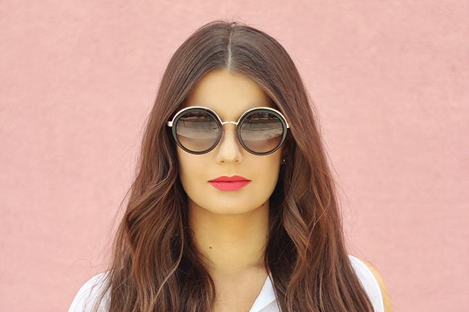 Spring 2017 Trend Guide   Casual Chic   Prada PR50TS 1AB0A7 Sunglasses // JustineCelina.com