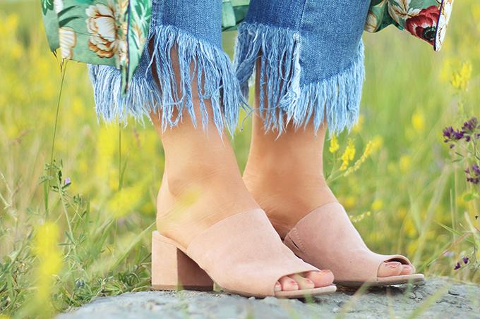 Summer 2017 Trend Guide   Kimono Love   Mules // JustineCelina.com